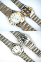นาฬิกาข้อมือโลหะอัลลอยย์ HALEI -MCIPRXM EA446ML