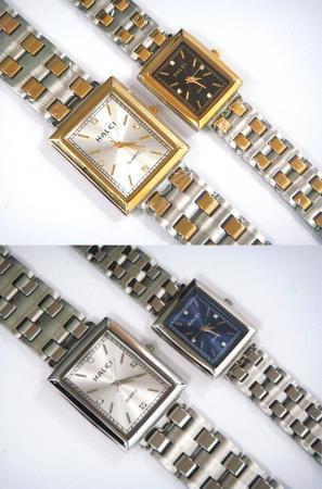 นาฬิกาข้อมือโลหะอัลลอยย์ HALEI -MCINRXM EA444ML