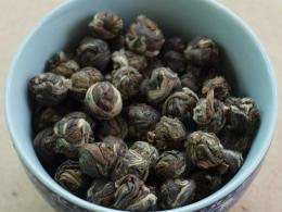 ชาอบกลิ่น  ชาเขียวมะลิ ชาเขียวมะลิ (ไข่มุก) Jasmine Pearls