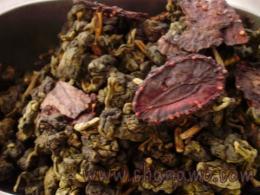 ชาอบกลิ่นชาสตอเบอรี่ Strawberry Oolong 100g