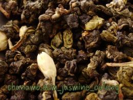 ชาอบกลิ่น ชาอู่หลง-มะลิ Jasmine Oolong 100g.