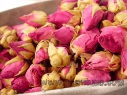 สมุนไพร  ดอกกุหลาบอบแห้ง Dried Rose buds 100g.