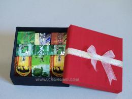 ชุดของขวัญ Gift Set ชา 9 ชิ้นในกล่องผ้าไหม