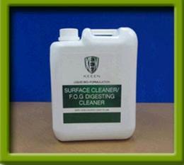 สารชีวบำบัดภัณฑ์   SURFACE CLEANER/F.O.G DIGESTER