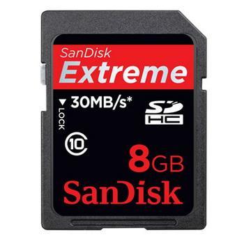 การ์ดความจำสำหรับกล้องถ่ายรูป SDSDX-008G-X46 c10