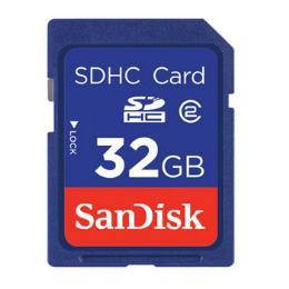 การ์ดความจำสำหรับกล้องถ่ายรูป SDSDB-032G-B35