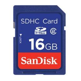 การ์ดความจำสำหรับกล้องถ่ายรูป SDSDB-016G-B35