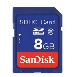 การ์ดความจำสำหรับกล้องถ่ายรูป  SDSDB-008G-B35