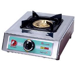 เตาแก๊ส เตากล่องเดี่ยว หัวทองเหลือง 110 มม.