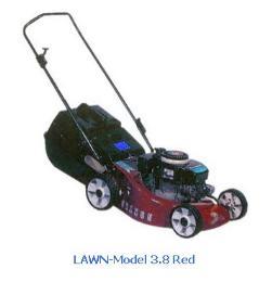 เครื่องตัดหญ้าแบบเข็น Lawn Model 3.8 Red