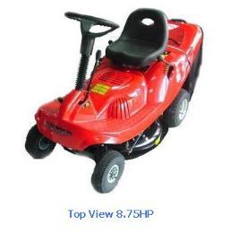 รถตัดหญ้านั่งขับ Top View 8.75HP