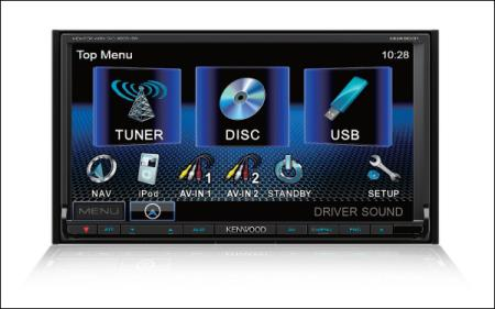 ทีวีรถยนต์ DDX-6031
