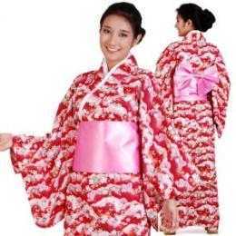 ชุดยูกาตะ ชุดกิโมโนผู้หญิง XK109