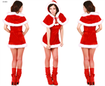 ชุดซานต้าผู้หญิง   X-S023