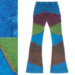 กางเกงขาม้าผ้าต่อ FNEP133
