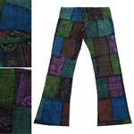 กางเกงขาม้าผ้าต่อ FNEP271