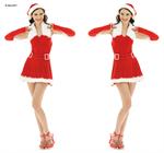 ชุดซานต้าผู้หญิง   X-MAS857
