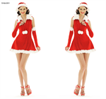 ชุดซานต้าผู้หญิง X-MAS855