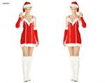 ชุดซานต้าผู้หญิง  X-MAS631