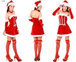ชุดซานต้าผู้หญิง X-S006