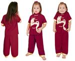 ชุดจีนเด็ก  PKR4