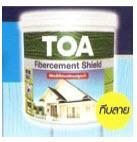 สีทาไม้ TOA Fibercement Shield (ไฟเบอร์ซีเมนต์)