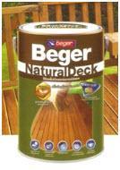 สีย้อมไม้ Beger NaturalDeck