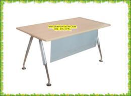 โต๊ะทำงานไม้ขาเหล็ก A-ONE
