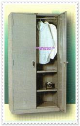 ตู้เสื้อผ้าเหล็ก 2 บานเปิดมือจับฝัง CDL-212