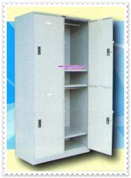 ตู้ล็อกเกอร์แบบ 4 ประตู CL-104 มอก.