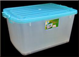 กล่องพลาสติกเอนกประสงค์พร้อมฝาล็อค 010