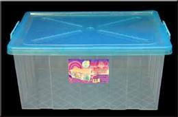 กล่องพลาสติกเอนกประสงค์พร้อมฝาล็อค 011