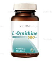 วิสทร้า แอล-ออร์นิธีน 30 แคปซูล