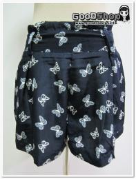 กางเกงขาสั้นลายผีเสื้อGS-655