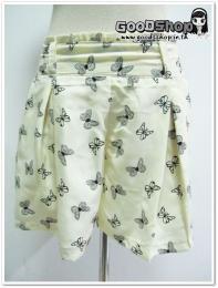 กางเกงขาสั้นลายผีเสื้อGS-654