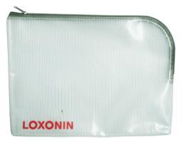 ซองซิปผ้า LOXONIN 010209