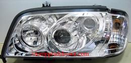 ไฟหน้ารถยนต์ BENZ C-CLASS W202 94-00 ขาว มุมติด
