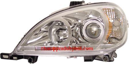 ไฟหน้ารถยนต์ BENZ ML-CLASS W163 02-05 ขาว