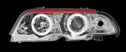 ไฟหน้ารถยนต์ BMW 3 SERIES E46 98-01 ขาว
