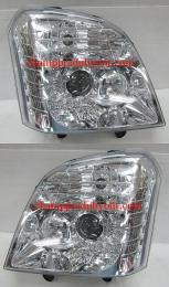 ไฟหน้ารถยนต์ ISUZU MU-7 05-06 ขาว LED