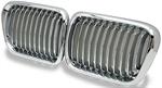 กระจังหน้า BMW 3 SERIES E36 98-00 โครเมี่ยม (BIG NOSE)