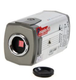 กล้องสีมาตรฐาน People Fu (FU106D)+Housing แถมขา
