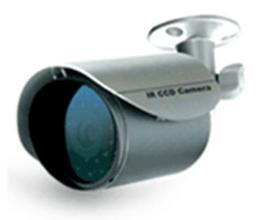 กล้องสีอินฟาเรด AV TECH (KPC138) แถมขา