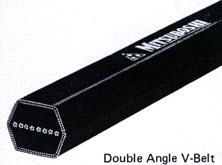 สายพาน ยี่ห้อ MITSUBOSHI รุ่น Double Angle V-Belt