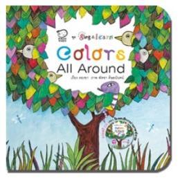 หนังสือชุด SING & LEARN - COLORS ALL AROUND