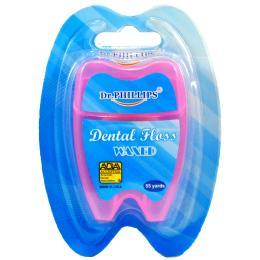 ไหมขัดฟัน 55 หลารูปฟัน (สีชมพู)