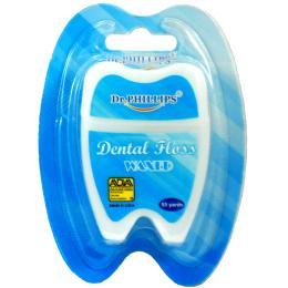ไหมขัดฟัน 55 หลารูปฟัน (สีขาว)