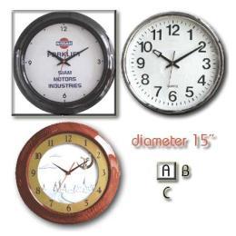 นาฬิกาแขวน 15 นิ้ว