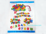 ชุดตัวเลขนูน 0-10 ร้อยเชือก w-ID-006-11