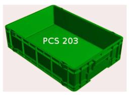 ลังพลาสติก PCS 203